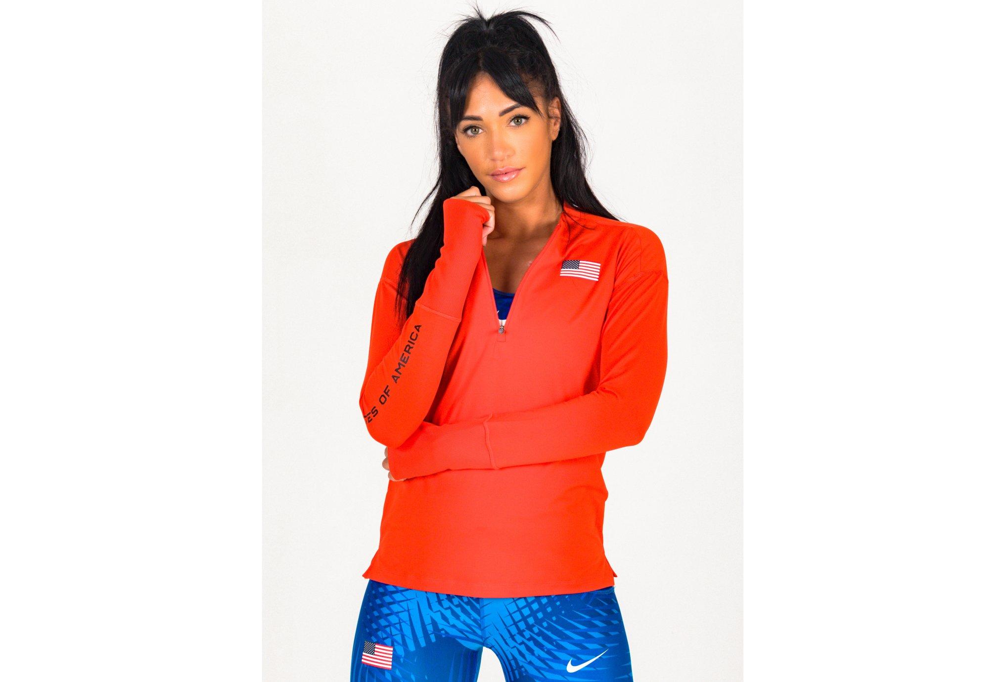 Nike Element Team USA W vêtement running femme