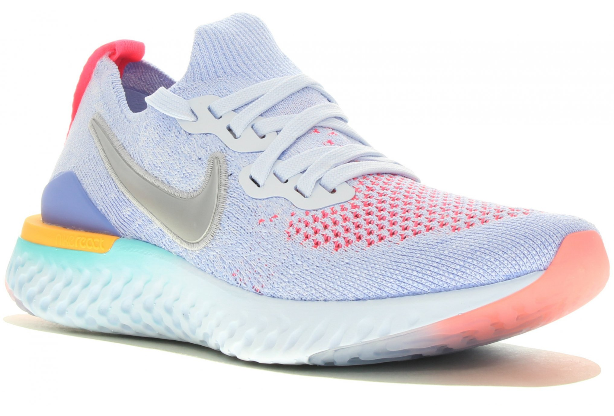 Nike Epic React Flyknit 2 Fille Chaussures running femme