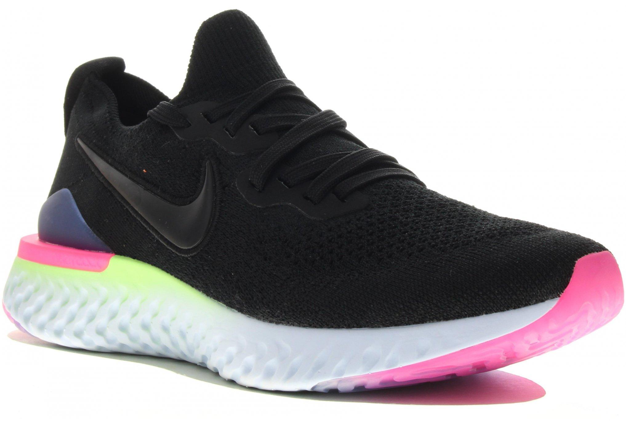 Nike Epic React Flyknit 2 W Diététique Chaussures femme