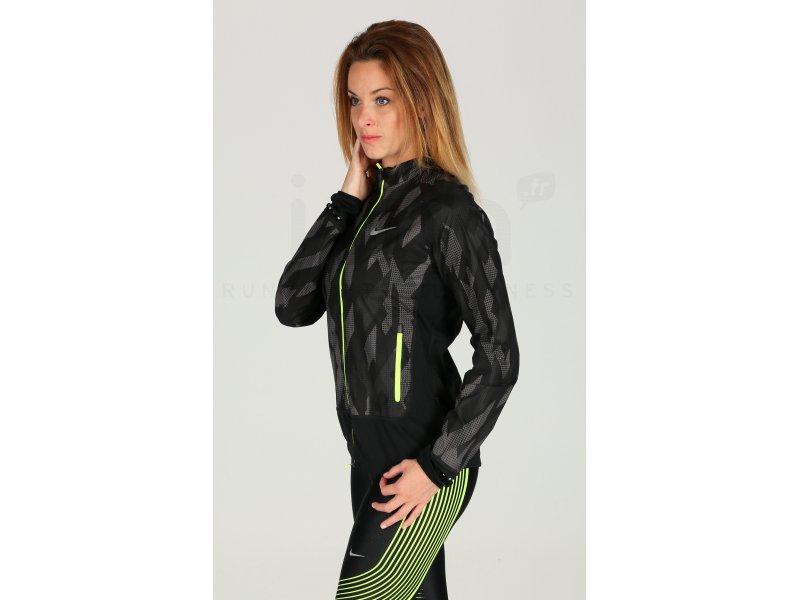 Nike Flex Running W pas cher - Vêtements femme running Vestes   coupes vent  en promo f82bbd79e0c9