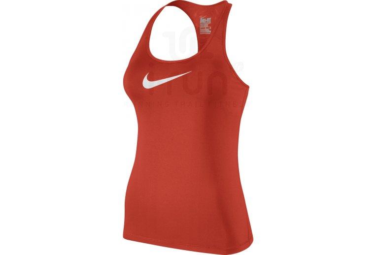 calidad autentica nueva llegada último descuento Nike Camiseta de tirantes Flex Swoosh en promoción | Mujer Ropa ...