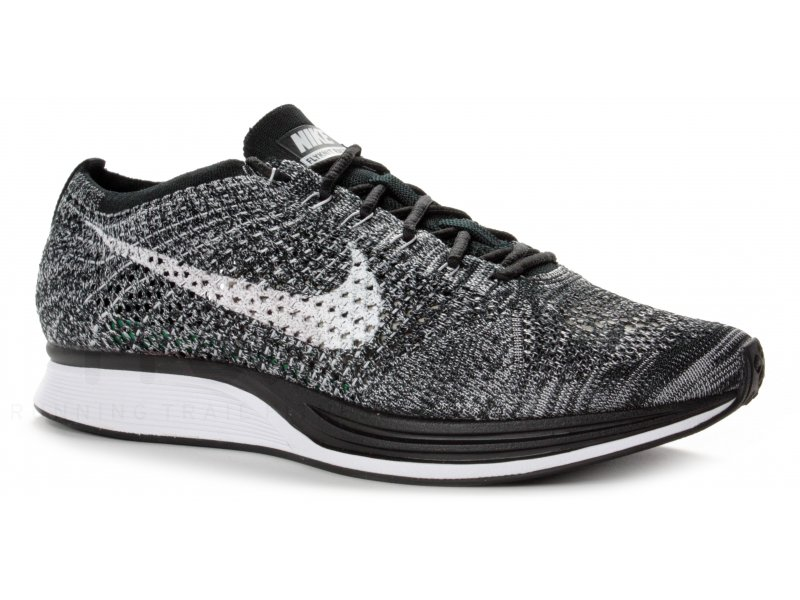 free delivery free shipping brand new Nike Flyknit Racer M homme Noir pas cher