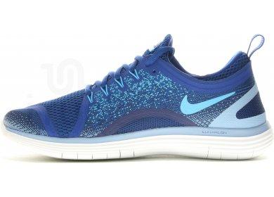 7c8117b47fb Nike Free RN Distance 2 M homme Bleu pas cher