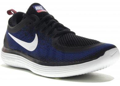 825a5d3b6cb Nike Free RN Distance 2 M homme Bleu marine pas cher