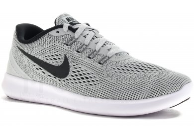 quality design 2e4de f85c2 Nike Free RN W femme Grisargent pas cher