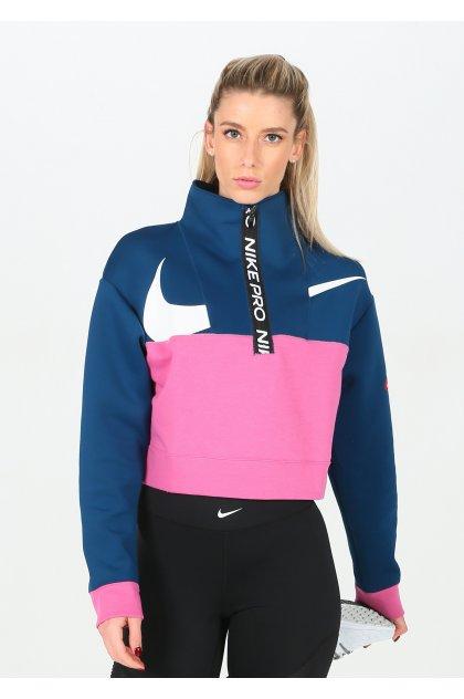 Nike camiseta manga larga Get Fit Icon Clash
