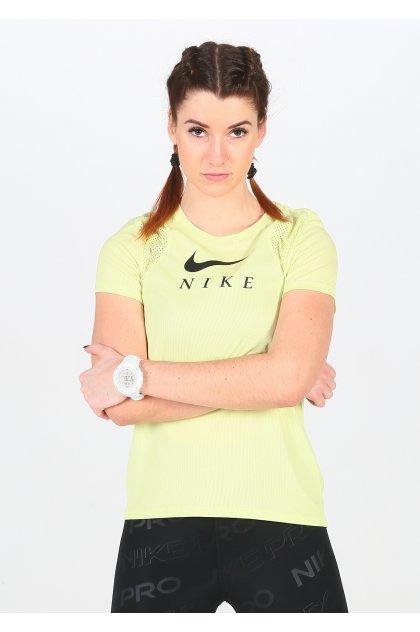 Nike Camiseta manga corta mujer Nike Grafic Running