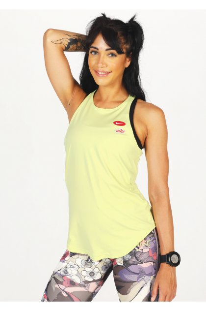 Nike camiseta de tirantes Iron Clash
