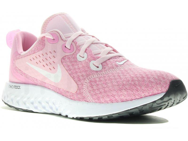 Nike Legend React Fille femme Rose pas cher