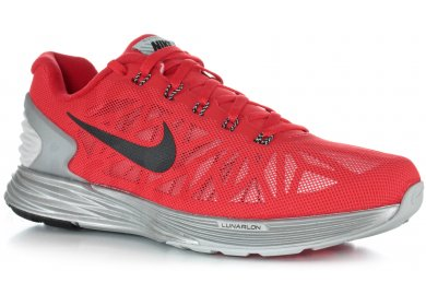 Nike Lunarglide 6 Flash M Pas Cher Chaussures Homme Running Route