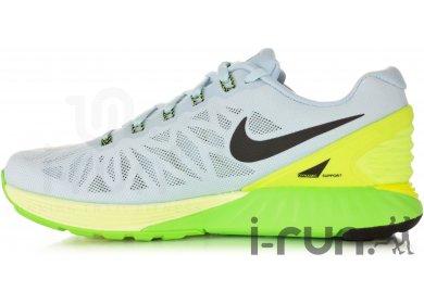 Nike Lunarglide 6 W femme Grisargent pas cher
