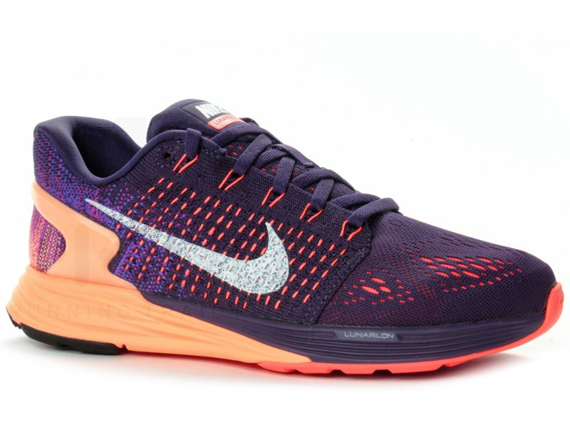 100% authentic 2bed1 10743 Nike Lunarglide 7 W femme Violet pas cher