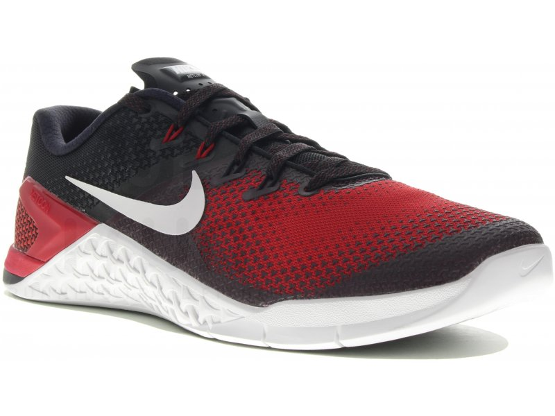 size 40 5c762 4d0bf Nike Metcon 4 M homme Rouge pas cher