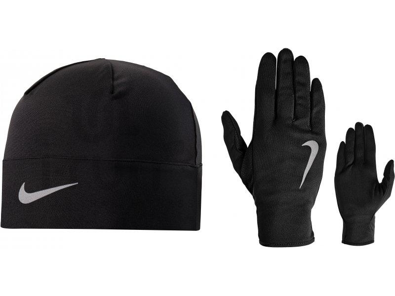bb730cdfad24c Nike Pack bonnet + gants Dry W pas cher , Destockage running Accessoires en  promo ...