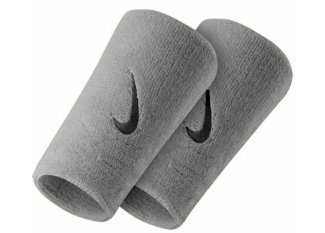 Nike Muñequeras Swoosh dobles