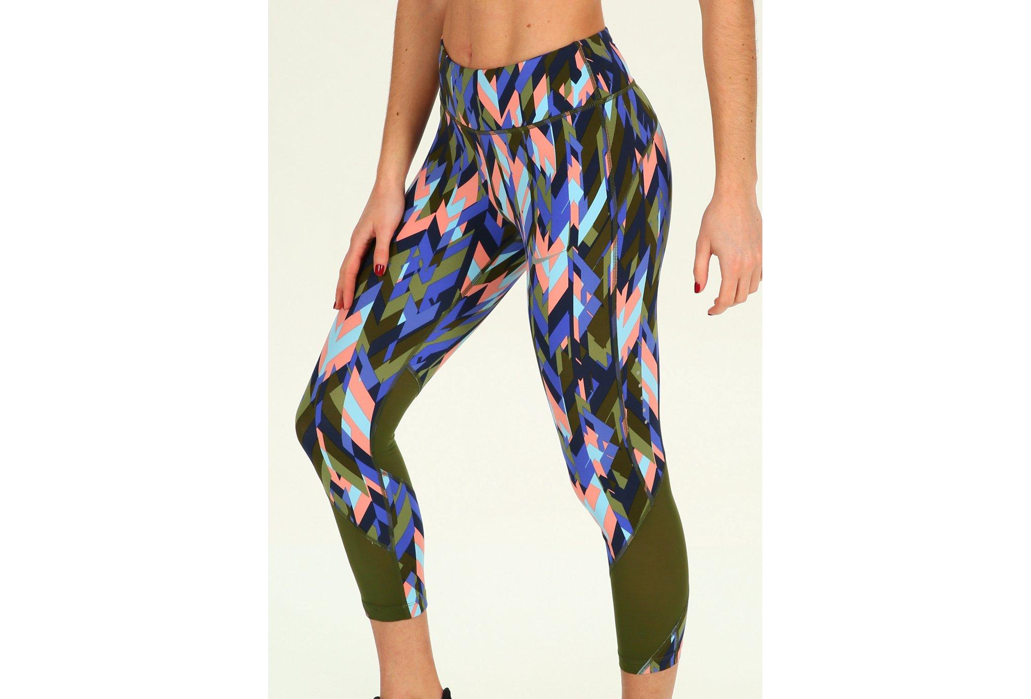 Nike Power Epic Lux Crop Print W Diététique Vêtements femme