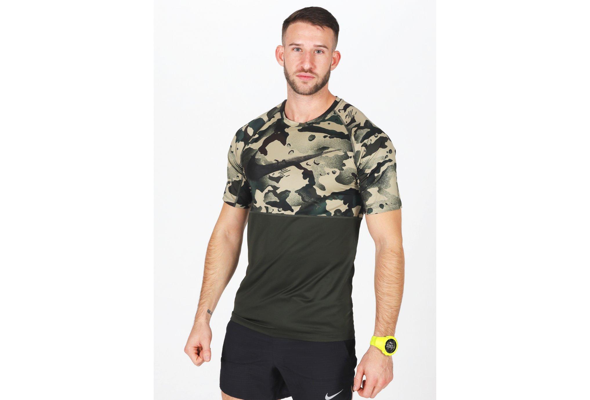 Nike Pro Camo M Diététique Vêtements homme