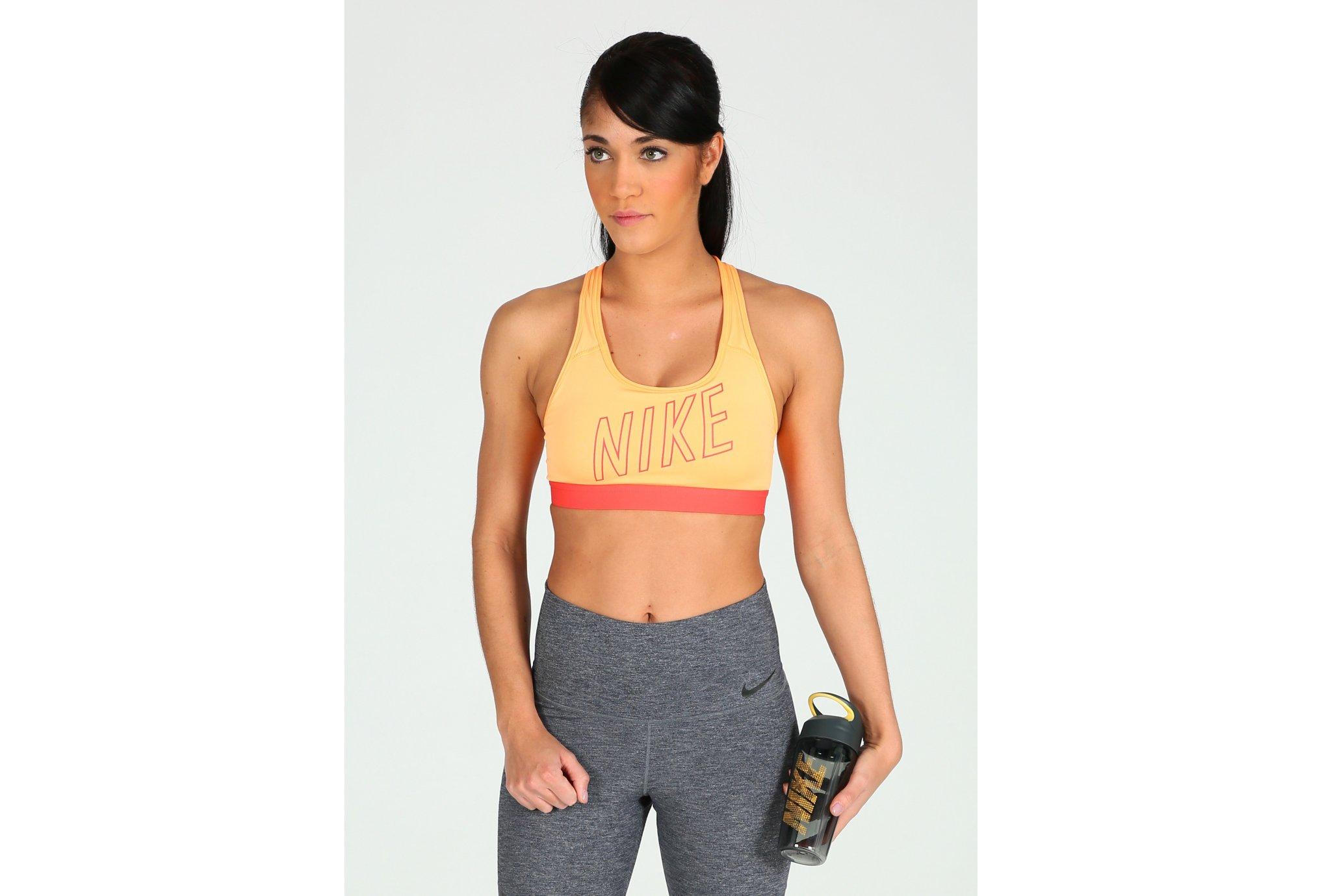 Nike Pro Classic Padded Logo W Diététique Vêtements femme