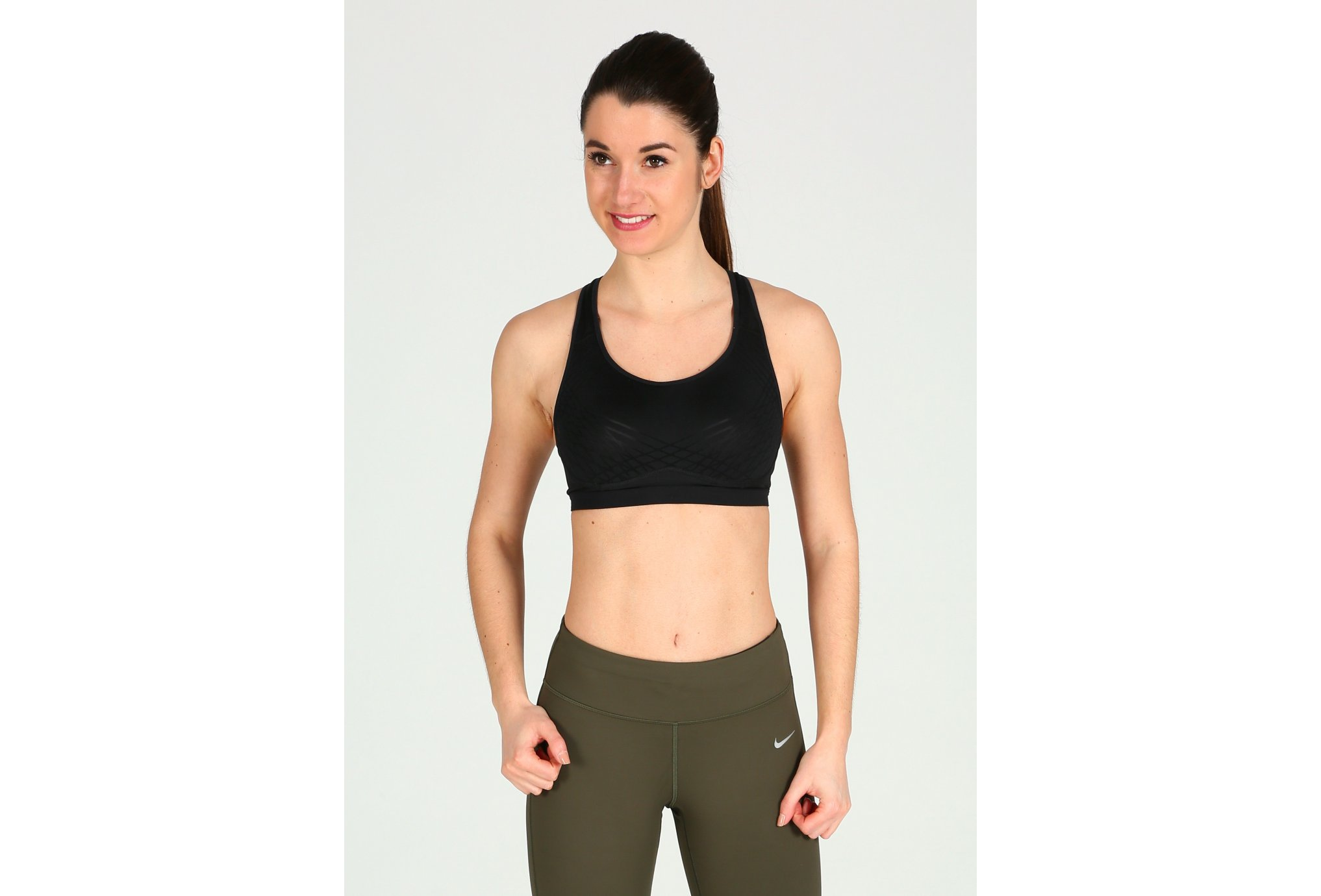 Nike Pro Fierce Flocked W Diététique Vêtements femme
