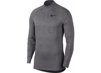 Nike Pro M pas cher - Vêtements homme running Manches longues en promo d2a97f2eb31