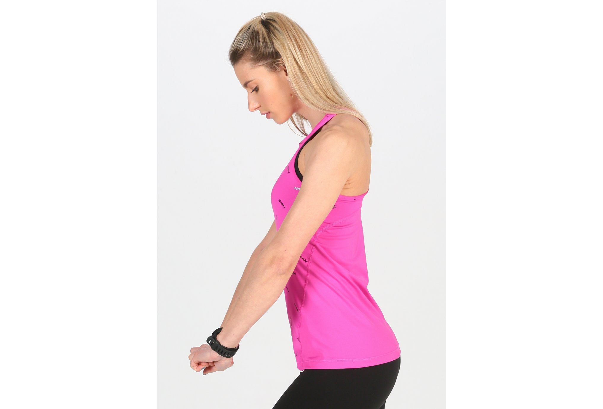 Nike Pro Print W vêtement running femme