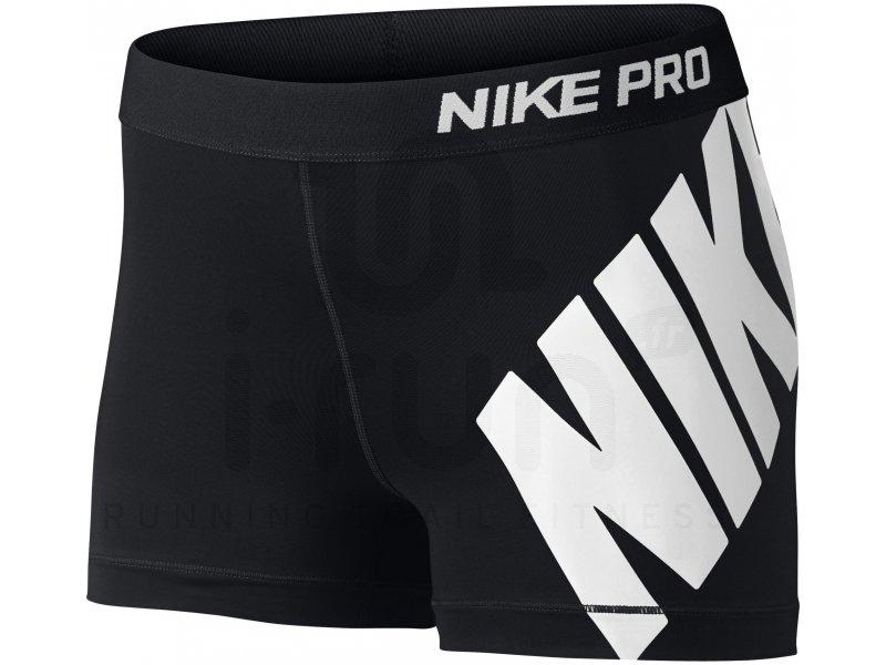 authorized site 100% quality get new Nike Pro Short Logo 3 W - Vêtements femme Compression