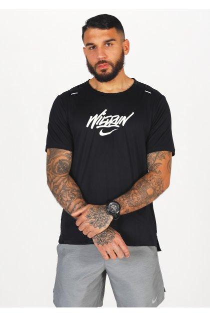 Nike camiseta manga corta Rise 365 Wild Run