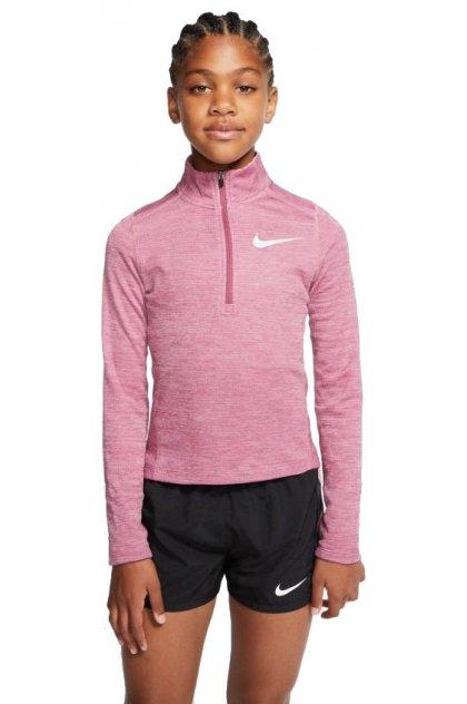 Nike camiseta manga larga Run 1/2 zip