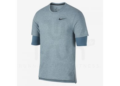 Nike Run Division Rise M pas cher - Vêtements homme running Manches ... 586d3a821b4