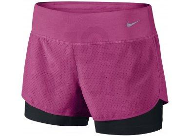 Nike Short Rival Perforated 2En1 Femme W Pas Cher Vêtements Femme 2En1 16e2ac