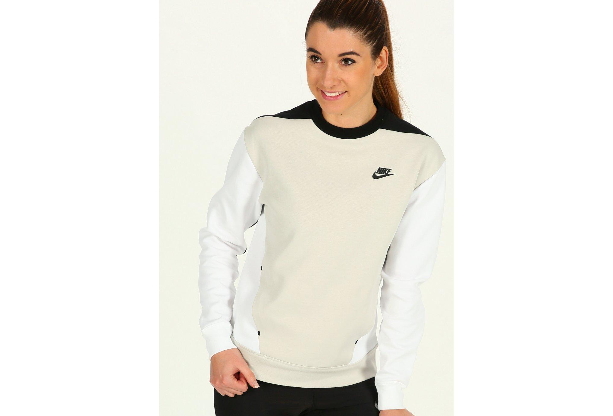 Nike Fleece Femme Tech Sportswear Crew ZikOPXu