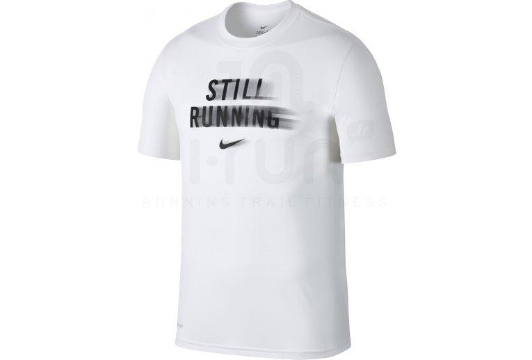 Nike Manga Still Hombre Running Camiseta Corta Ropa Promoción En vxnpHx