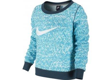 W Sweat Printed Vêtements Running Pas Nike Crew Femme Club Cher xIqwBZS