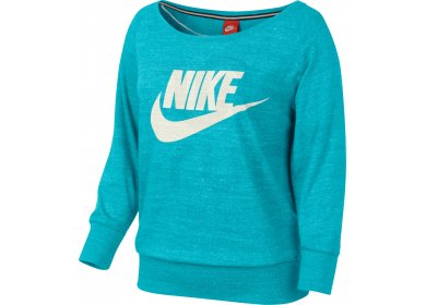 Nike Sweat Gym Vintage Crew W pas cher - Vêtements femme running ... 6acd23db03d