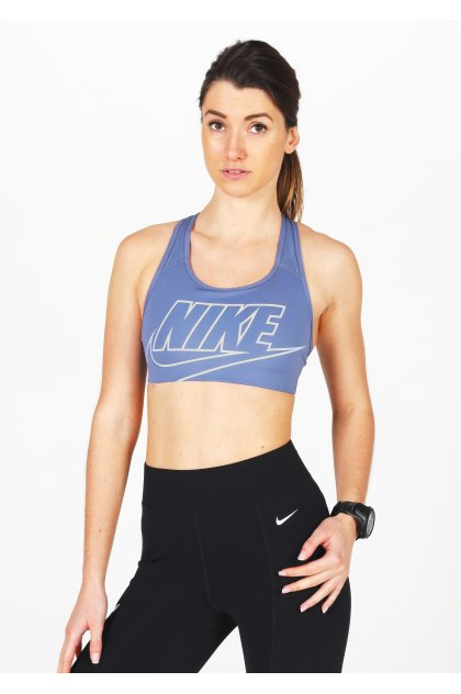 Nike sujetador deportivo Swoosh Futura