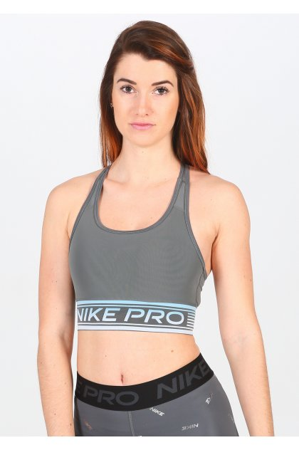 Nike sujetador deportivo Swoosh Mesh Padded