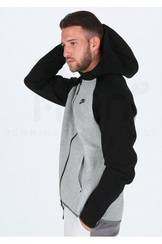 hoodie nike homme gris