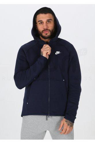 nike tech fleece homme bleu