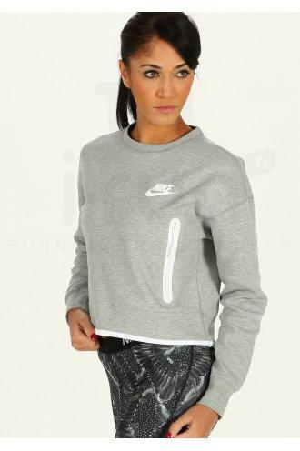 17e6633df7c Nike Tech Fleece W femme Gris argent pas cher