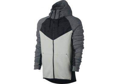 50b2626ae16 Nike Tech Fleece Windrunner M homme Gris argent pas cher