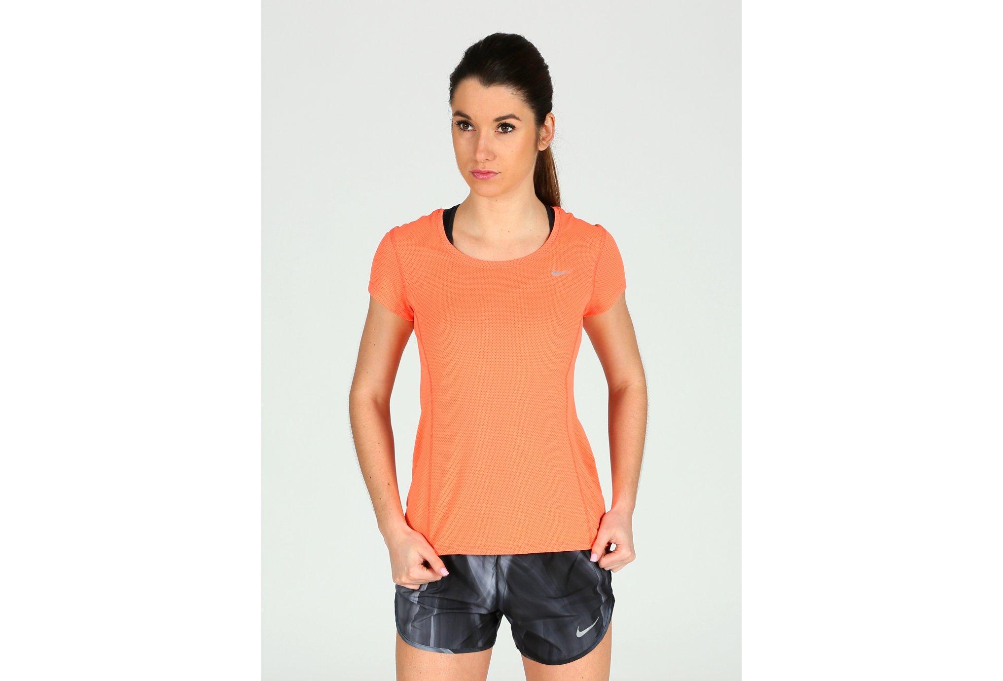 Nike Tee-Shirt Dri-Fit Contour W Diététique Vêtements femme