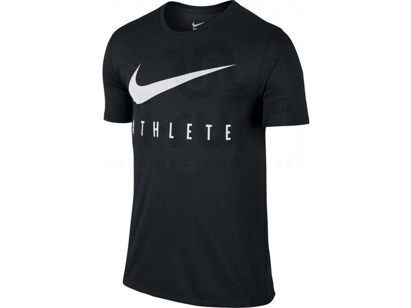 Cher Nike Tee Homme Shirt Vêtements Run Swoosh Athlète M Pas WYDHe29IE