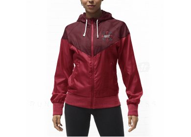 Veste nike windrunner bordeaux