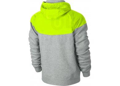 Nike Windrunner Veste RU Overlay Fleece Windrunner Nike M pas cher Vêtements homme 1b77d0