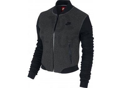 Nike Veste Tech Fleece 3mm Bomber W pas cher - Vêtements femme ... 83feef4a911a
