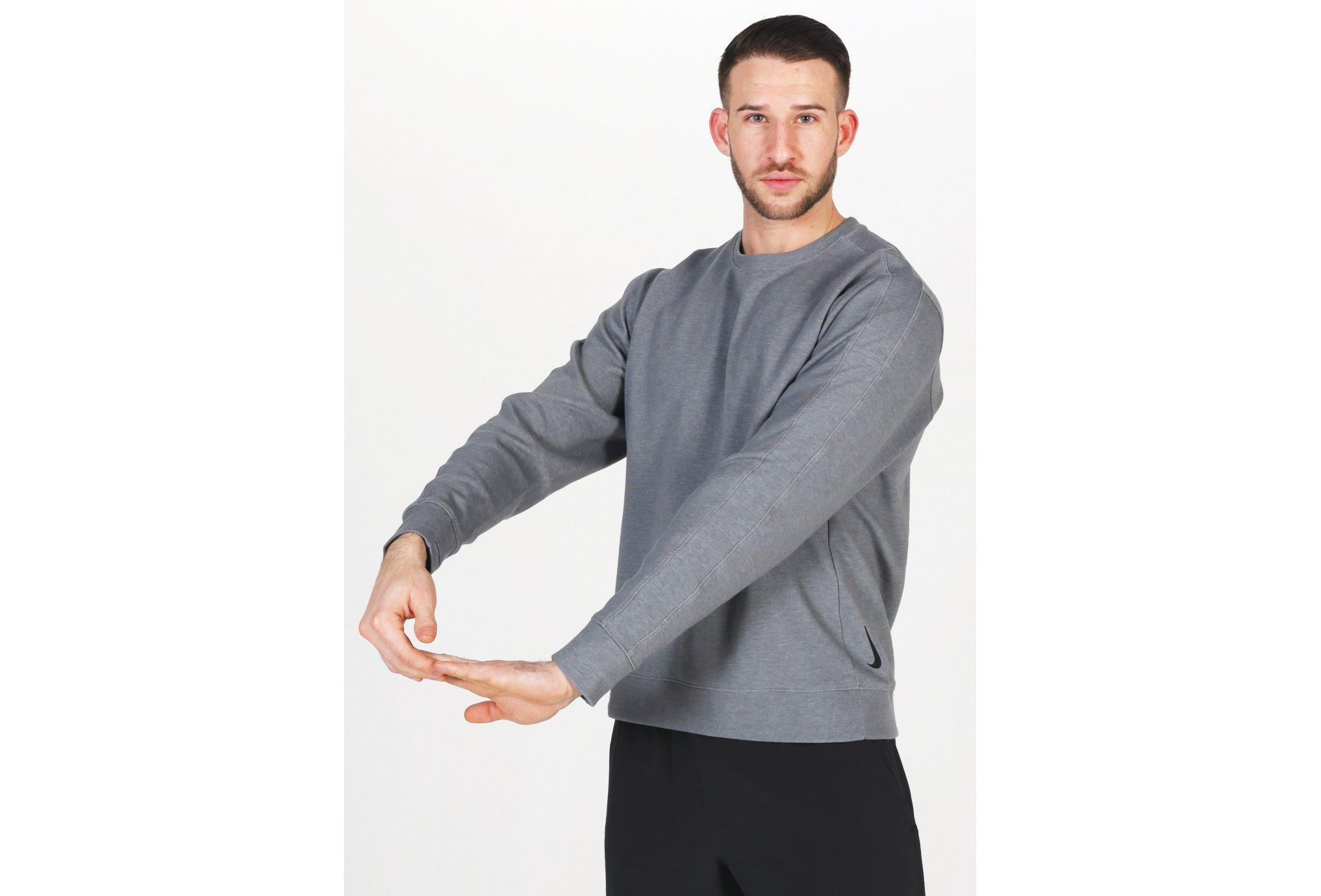 Nike Yoga Crew M vêtement running homme