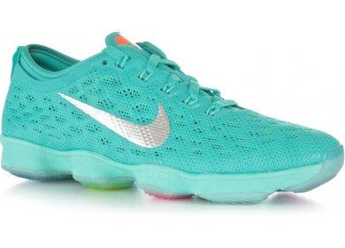 0b70cea64cbe Nike Zoom Fit Agility W femme Vert pas cher