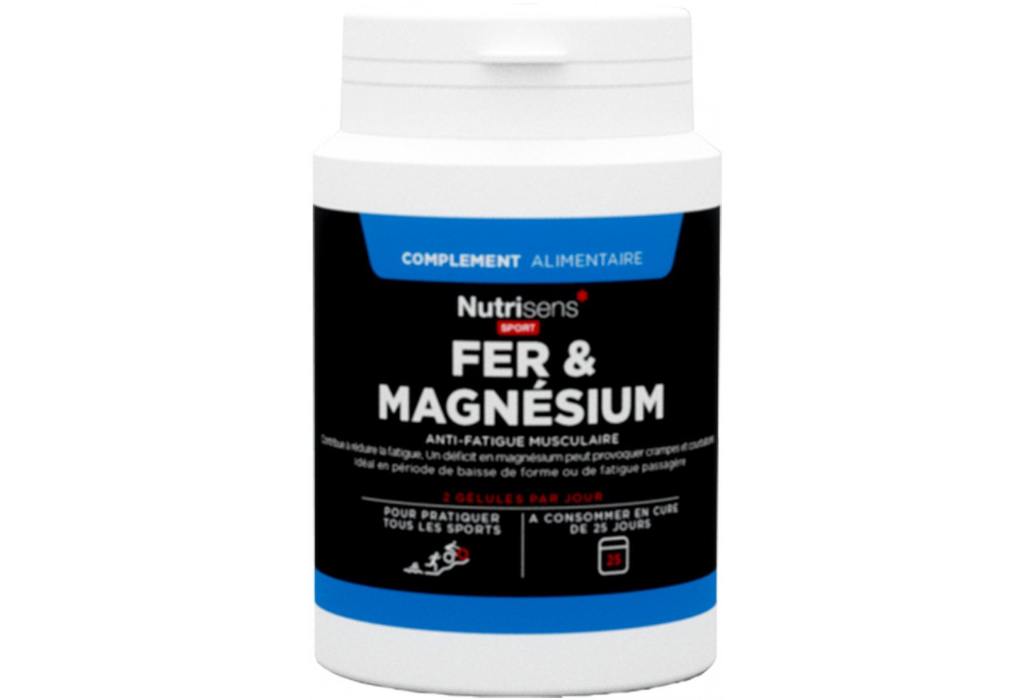 Nutrisens Sport Hierro y magnesio Diététique Compléments