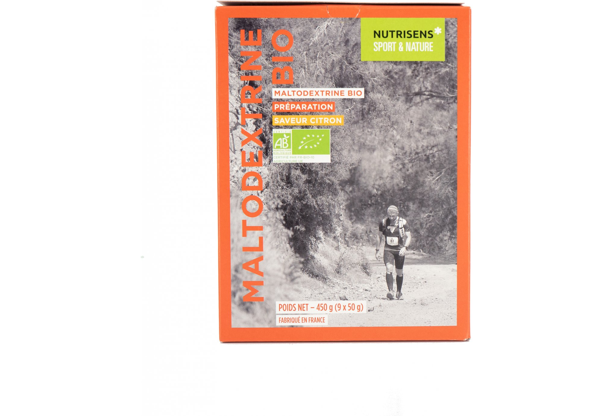 Nutrisens Sport Maltodextrine Bio - Citron Diététique Préparation