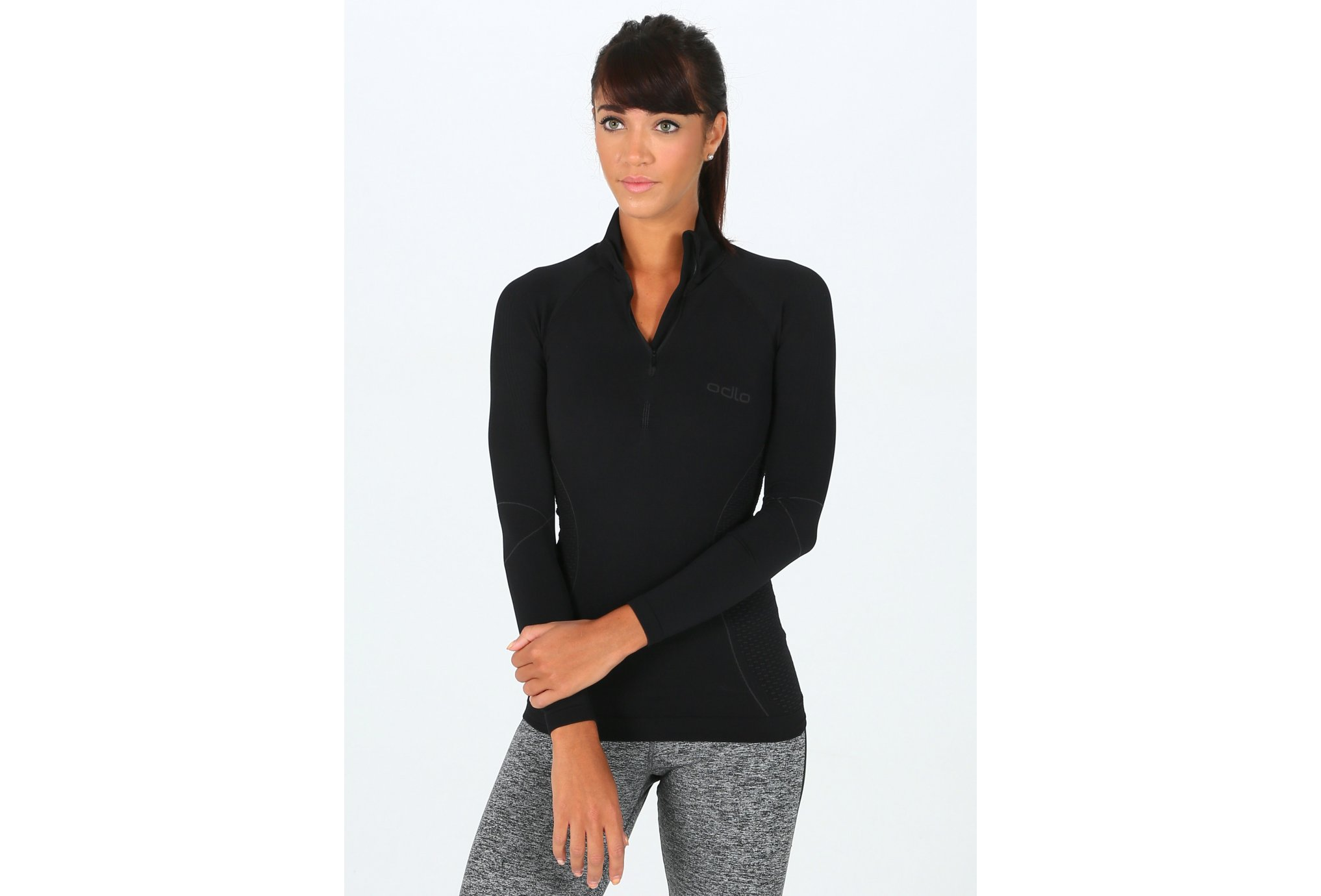 Odlo 1/2 Zip Evolution Warm W vêtement running femme